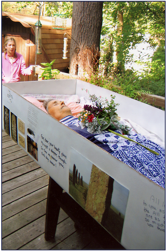 Karen in Her Coffin Outside~